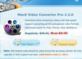 Giveaway: MacX Video Converter Pro
