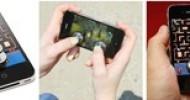 ThinkGeek + JOYSTICK-IT for iPhone