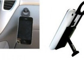 New Smartphone Stand wEASEL With Retractable Loop and Vehicle Button Pad