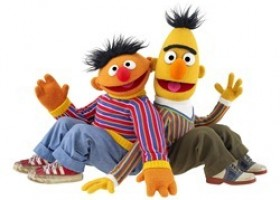 Navigate to Sesame Street with Bert & Ernie and TomTom