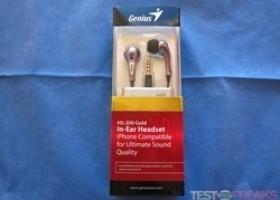 Genius HS-200 Gold In-Ear Headset @ TestFreaks