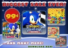 Sega Discounts XBL, PSN and Mobile Titles for the Holidays