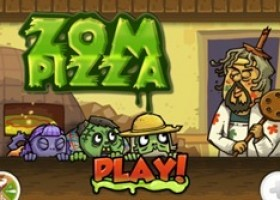 ZomPizza 1.1.2 Free for iOS – Prepare, Cook, and Serve Pizzas to Zombies