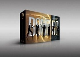 James Bond Celebrates Fifty Incredible Years with Golden Anniversary Blu-Ray Collection BOND 50