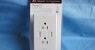 Newer Technology Power2U AC/USB Wall Outlet @ TestFreaks