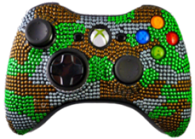 Modzlab Introduces its Exclusive Line of Camouflage Xbox 360 Modded Controllers