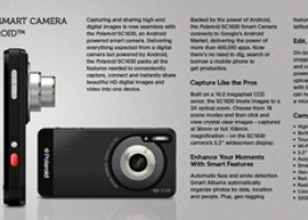 Polaroid Announces the SC1630 Smart Camera Powered by Android