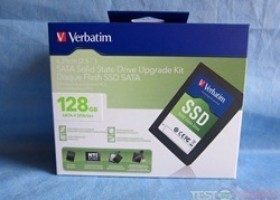 "Verbatim SATA II 2.5"" 128gb SSD Upgrade Kit  @ TestFreaks"