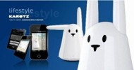 "Karotz ""Smart"" Rabbit Compatible with Facebook"