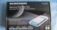 OWC Mercury On-The-Go FireWire 800 / USB 2.0 Portable Hard Drive Kit @ TestFreaks