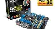 Asus P8Z68-V PRO/GEN3 Motherboard Gets BIOS Update