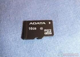 ADATA 16gb Class 10 microSDHC Memory Card Review @ TestFreaks