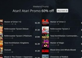60% Off Atari Games at GOG!