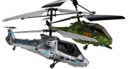 Swann Launches Twin Sky Duel Battling R/C Helicopters