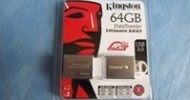 Kingston 64gb DataTraveler Ultimate 3.0 Generation 3 (G3) Review @ TestFreaks