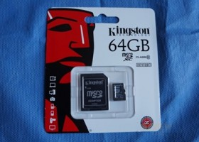 Kingston 64GB microSDXC Class 10 Memory Card Review