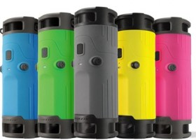 Scosche boomBOTTLE Rugged Weatherproof Bicycle Speaker Available in More Colors