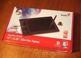 Genius EasyPen F610E Slim Pen Tablet Review @ TestFreaks