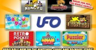 Seven Titles from UFO Interactive Available for Only $4.99 on Nintendo eShop and DSiWare