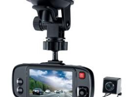 Genius Launches DVR-HD500D Dual Lens Vehicle Recorder