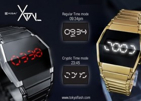 Tokyoflash Japan Launches Time in Alien Code Watch