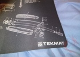 TekMat AR-15 Bench Mat Review @ DragonSteelMods