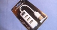 HandGiftBox 4 Ports Power Strip Style Hi-Speed USB Hub Review @ TestFreaks
