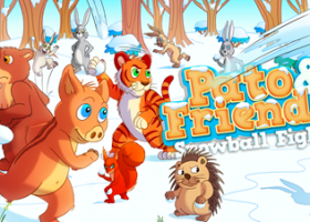 Free iOS / Android Game: Pato & Friends: Snowball Fight