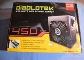 Diablotek PHD450 PHD Series 450 Watt Power Supply Review @ DragonSteelMods