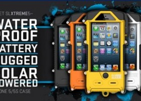 Snow Lizard Launches SLXtreme Solar Powered, Waterproof and Battery-Boosting Case for iPhone 5/5S