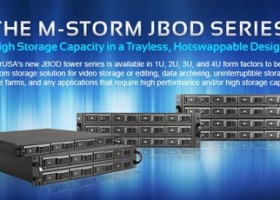 iStarUSA Announces M-Storm JBOD Trayless Rackmount Chassis