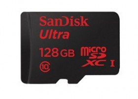 Sandisk Announces 128gb microSD Card