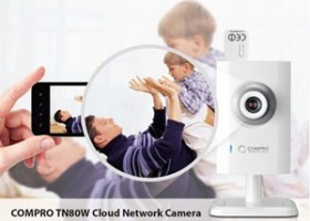 Compro Intros TN80W 720P HD Cloud IP Camera