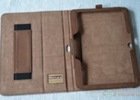 Snugg Distressed Brown Leather Case for Samsung Galaxy Tab 3 10.1 Reviewed @ TestFreaks