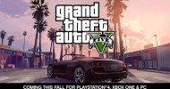 Grand Theft Auto V Coming this Fall to PlayStation 4, Xbox One and PC
