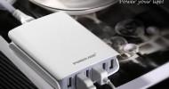 Poweradd Launches New 50Watt Desktop USB Charger