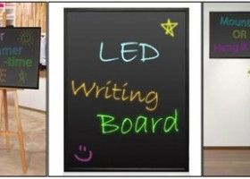 Pyle Launches Erasable Illuminated LED Writing Board