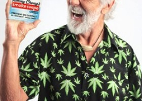 Eliminate Cannabis Smell from Clothing with Tommy Chong's Smoke Swipe