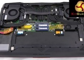 MSI GT80 Titan Laptop -internal shots from pre-retail sample @ Kitguru