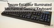 Tesoro Excalibur Illuminated Mechanical Gaming Keyboard Video Review @ 3dGameMan