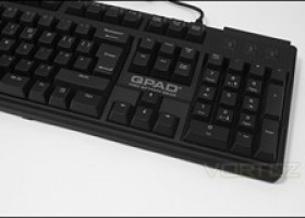 QPAD MK-70 Keyboard Review @ Vortez