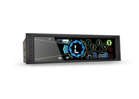 "Thermaltake Intros Commander FT 5.5"" Touch Screen Fan Controller"