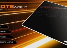 Ozone Gaming Intros Ocelote World Aluminum Gaming Mousepad