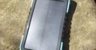 Sunferno Flintstone 5000mAh Solar Charger Review @ Technogog
