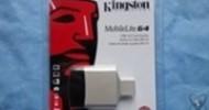 Kingston MobileLite G4 USB 3.0 Card Reader Review @ Technogog
