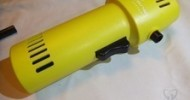 O2 Hurricane 220+ MPH Canless Air Industrial Yellow Rechargeable Duster Review @ Technogog