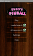Enzos_Pinball-Mainscreen