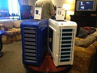 Thermaltake Chaser A31 Thunder & Snow at CES 2013