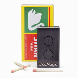 DacMagic-XS-Studio-Shot-White-Background-with-Matchbox-and-Matches