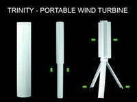 Skajaquoda Trinity Portable Wind Turbine